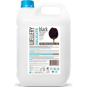 Жидкое средство WELLERY для деликатной стирки черных и темных вещей 5 л