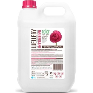 Жидкое средство WELLERY для интенсивной стирки цветных вещей 5 л