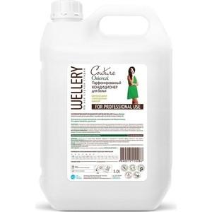Кондиционер для белья WELLERY Пряный жасмин 5 л жидкое средство wellery для стирки детской одежды 5 л