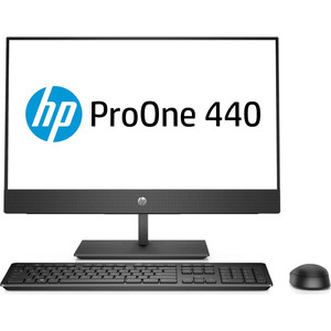 Моноблок HP ProOne 440 G4 (4NT90EA) 23.8 FHD i5-8500T/8Gb/500Gb/DVDRW/W10Pro hp proone 440 g4 aio 23 8 1920x1080 ips intel core i5 8500t 2 1ghz 8192mb 1000gb dvdrw wifi war 1y dos spec repl 1qm14ea