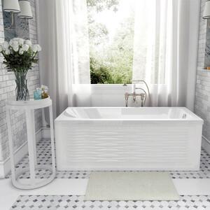 Акриловая ванна Aquanet Nord 150x70 с каркасом и панелью (242401, 243512)