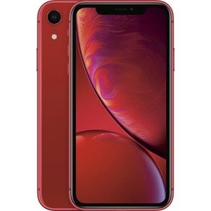 Смартфон Apple iPhone XR 128GB Red (MRYE2RU/A) цена и фото