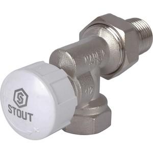 Клапан STOUT термостатический, осевой 1/2 (SVT 0005 000015)