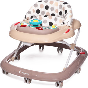 Ходунки Baby Care Pilot Бежевые точки (Beige dots) BG0611