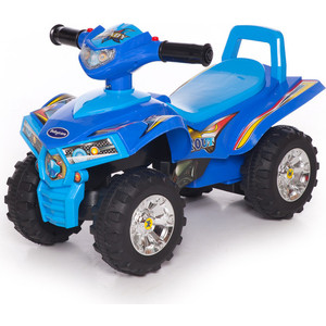 Каталка Baby Care Super ATV Желтый/Синий (Yellow/Blue) 551 ходунки baby care sonic yellow blue