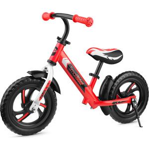 Детский алюминиевый беговел Roadster Small Rider 3 (Classic EVA) (красный)