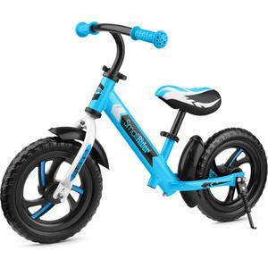 Детский алюминиевый беговел Roadster Small Rider 3 (Classic EVA) (синий)