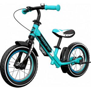 все цены на Детский алюминиевый беговел Small Rider Roadster 3 (Sport AIR) (аква) онлайн