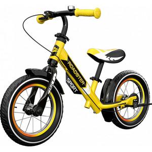 Детский алюминиевый беговел Small Rider Roadster 3 (Sport AIR) (желтый)