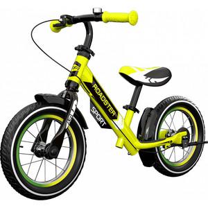 все цены на Детский алюминиевый беговел Small Rider Roadster 3 (Sport AIR) (лайм) онлайн