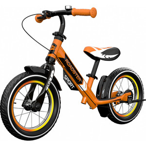 все цены на Детский алюминиевый беговел Small Rider Roadster 3 (Sport AIR) (оранжевый) онлайн