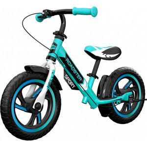 Детский алюминиевый беговел Small Rider Roadster 3 (Sport, EVA) (аква)