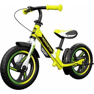 Детский алюминиевый беговел Small Rider Roadster 3 (Sport, EVA) (лайм)