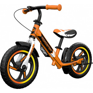 Детский алюминиевый беговел Small Rider Roadster 3 (Sport, EVA) (оранжевый)