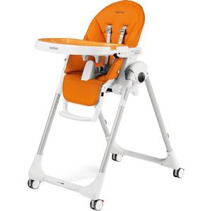 Стульчик для кормления Peg-Perego PRIMA PAPPA FOLLOW ME ARANCIA (оранжевый/кожзам) GL000880656 стульчик для кормления peg perego siesta follow me noce