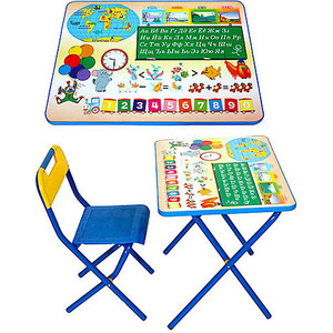 Набор мебели Дэми №1 (стол+стул) Глобус 000sn-79620