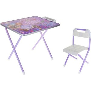 Набор мебели Дэми №1 (стол+стул) София Прекрасная, (фиолет) GL000124895