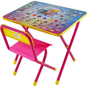 Набор мебели Дэми №1 (стол+стул) Электроник, (роз) GL000026494
