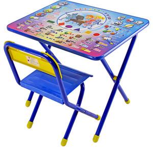 Набор мебели Дэми №1 (стол+стул) Электроник, (син) GL000026495