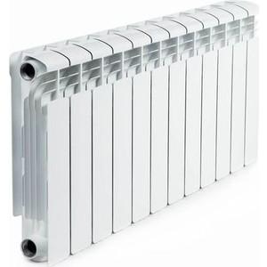 Радиатор отопления RIFAR ALUM 350 12 секций аллюминиевый боковое подключение (RAL35012) ledron 8663s alum
