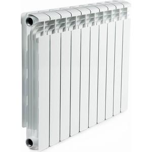 Радиатор отопления RIFAR ALUM 500 10 секции аллюминиевый боковое подключение (RAL50010) ledron 8663s alum