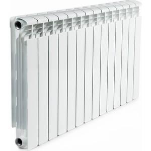 Радиатор отопления RIFAR ALUM 500 14 секции аллюминиевый боковое подключение (RAL50014) ledron 8663s alum