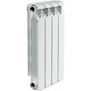 Радиатор отопления RIFAR ALUM 500 4 секции аллюминиевый боковое подключение (RAL50004) ledron 8663s alum