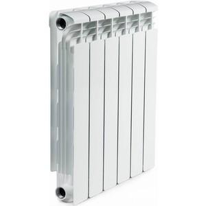 Радиатор отопления RIFAR ALUM 500 6 секции аллюминиевый боковое подключение (RAL50006) ledron 8663s alum
