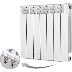 Радиатор отопления RIFAR BASE VENTIL 500 7 секций биметаллический нижнее правое подключение (R50007 НПП) radena 500 85 7 секций