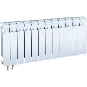 Радиатор отопления RIFAR MONOLIT VENTIL 350 12 секций биметаллический нижнее левое подключение (RM35012НЛ50) фото