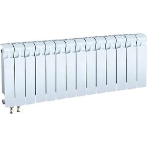 Радиатор отопления RIFAR MONOLIT VENTIL 350 14 секций биметаллический нижнее левое подключение (RM35014НЛ50)