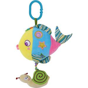 Подвесная музыкальная игрушка Lorelli Toys Разноцветная Рыбка 1019125 0001