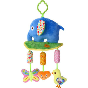Подвесная мягкая игрушка Lorelli Toys Слоник и компания 1019123 0003 развивающая игрушка lorelli toys обними меня мартышка 10191260001