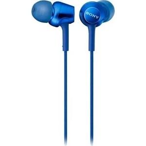 Наушники Sony MDR-EX255AP blue цена и фото