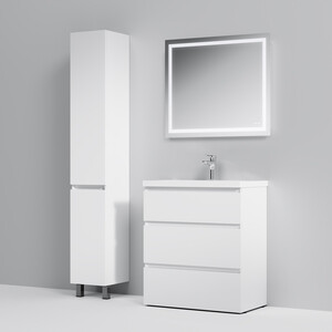 Мебель для ванной Am.Pm Gem S 76х85 белый глянец