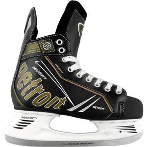 Хоккейные коньки MaxCity DETROIT MC - IS000056 Черный (46)