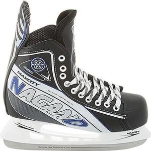 Хоккейные коньки MaxCity NAGANO MC - IS000058 Черный (46)