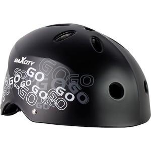 Шлем детский MaxCity ROLLER LOGO MC - PH000094 Черный (L)