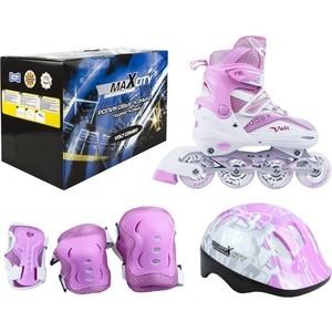 купить Роликовые коньки MaxCity VOLT COMBO MC - RS000016 - Розовый (39 - 42) дешево