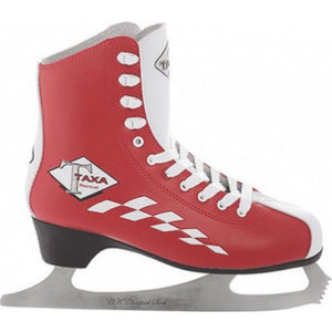Фигурные коньки TAXA RENTAL RF - 1 PROFY A кожа TX IS000014 Красный (39)