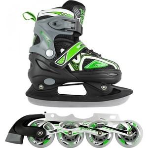 Набор подростковых коньков CK VOLT ICE MC - IS000110 Зеленый (31 34)