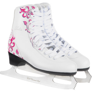 Фигурные коньки CK LADIES LUX tricot - IS000036 Белый (39)