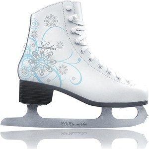 Фигурные коньки CK LADIES LUX velvet - IS000037 Белый (38)