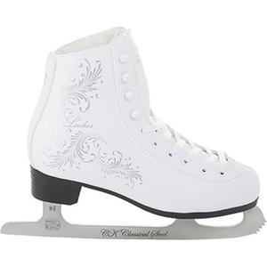 Фигурные коньки CK LADIES fur Classic - IS000031 Белый (36)