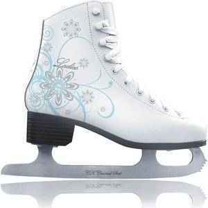 Фигурные коньки CK LADIES velvet Classic - IS000041 Белый (30)
