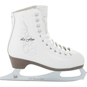 Фигурные коньки CK LE FLEUR leather 100% - IS000044 Белый (42)