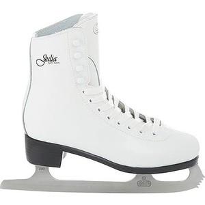 Фигурные коньки CK PRINCESS JULIA leather 100% - IS000039 Белый (34)
