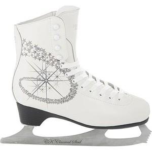 Фигурные коньки CK PRINCESS LUX leather 100% - IS000040 Белый (33)