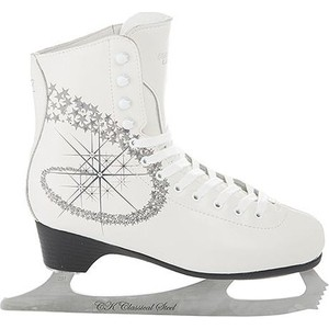 Фигурные коньки CK PRINCESS LUX leather 100% - IS000040 Белый (28)