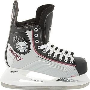 Хоккейные коньки CK PROFY LUX 3000 CK - IS000067 - Красный (47) цена